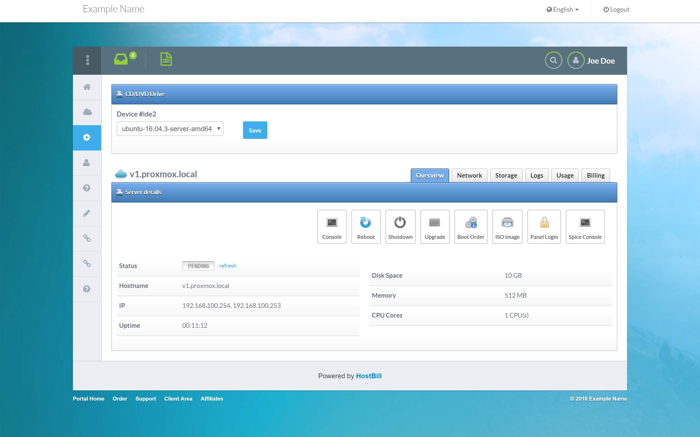 Proxmox | HostBill | Billing & Automation Software for WebHosts